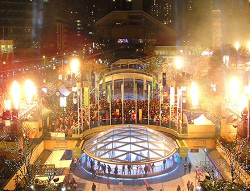 Robson Square: 2010 Olympic Celebrations